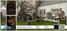 Echo - Man Cave - Vintage Florist's Truck - PG - Style 1