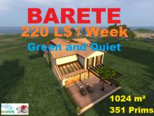 Land for rent - 1024 m² - 351 prims - L$ 220 / week