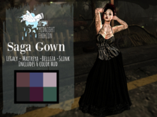 ::AMF::Saga Gown-  Add To Open