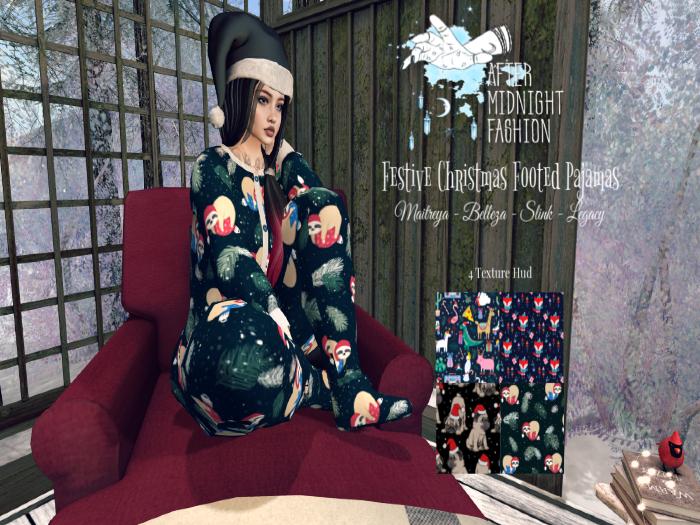::AMF:: Christmas Festive Pajamas