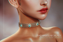 BUENO-Bad Habits Necklace Choker