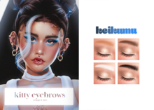 keikumu - kitty eyebrows (BOM & OMEGA)