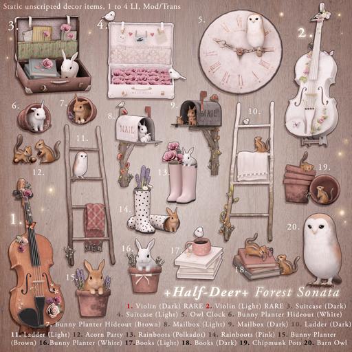 +Half-Deer+ Forest Sonata (1 random item)