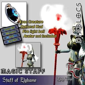 DIABLOCS Staff Elphame 2.0 BOX