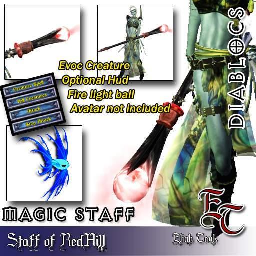 DIABLOCS Staff of RedHill 2.0 BOX