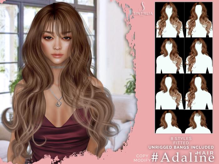 Sintiklia - Hair Adaline - Reds