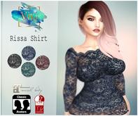 .:Bam:. Rissa Shirt - Black