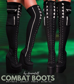 Save 60% Demon Doll - Combat Boots Fatpack