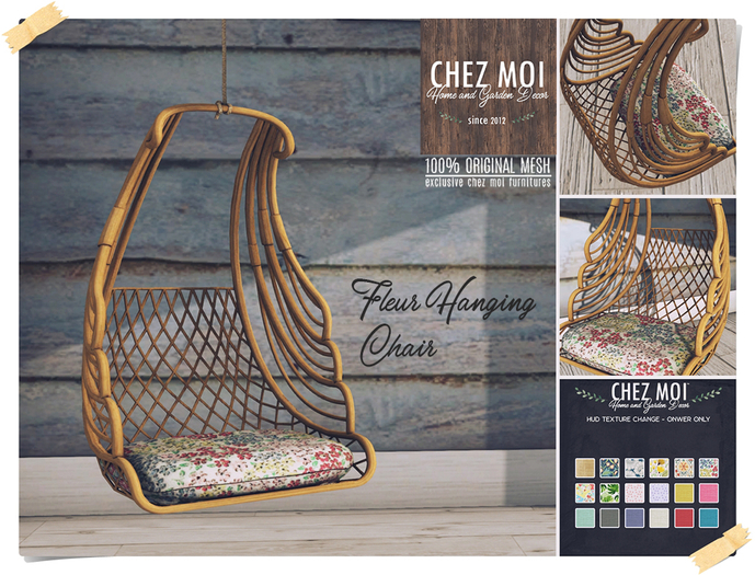 Fleur Hanging Chair ♥ CHEZ MOI