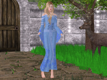 Mw- Gown Elf  Blue (add+touch)