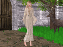 Mw- Gown Elf  Gold (add+touch)