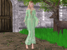 Mw- Gown Elf  Green