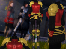Mw-Female Armor Lannister