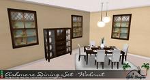 Ashmore Dining Room - Walnut by Sahi Designs