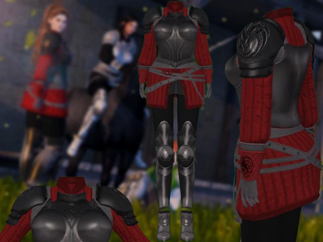 Mw-Female Armor Targaryen