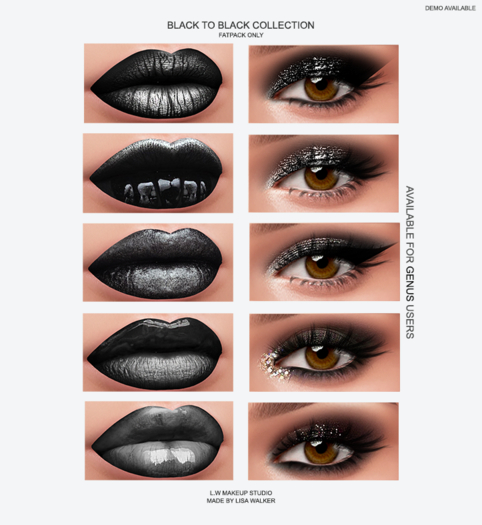 L.W BLACK TO BLACK (GENUS) FATPACK