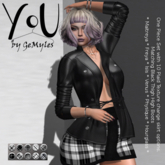 You By GeMyles Nickel Outfit and Boots