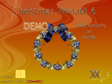 Christmas Wreath6 by Wild Motley DEMO