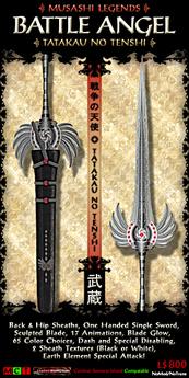 Musashi Blades - Tatakau Tenshi V4.2