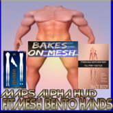 Fitmesh Male BENTO Mesh Body (boxed)