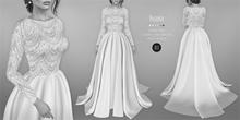 DEMO: BEO - Yesenia wedding gown