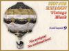 HOT AIR BALLOON Vintage Black (9 LI) (Full perm)