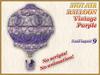 HOT AIR BALLOON Vintage Purple (9 LI) (Full perm)