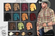 -= Billy Shirts =-