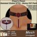 Freya's Finest Mesh Gemmed FTC Choker - Bunny FAT Pack