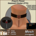 Freya's Finest Jewels Mesh Gemmed FTC Choker - Velvet