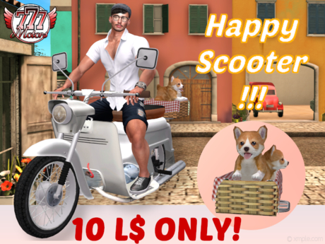 [777] Happy Scooter - White (boxed) - 10L$ Promotion!!!