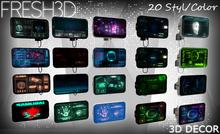 Fresh3D Sci-fi  Displays