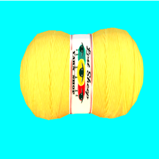 DFS Wool - Yellow Yarn Skein