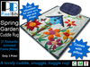 Lovely Spring Garden Cuddle Rug with Menu (Low prims)