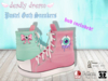 ::Deadly Dream:: *♥*Pastel goth*♥* mesh sneakers (12 colours fatpack)