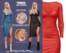 TETRA - Miaa Dress (Red)