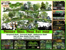 Sixx Privacy Wall Mega Fat Pack - 9 Walls - AddOn - mod/copy