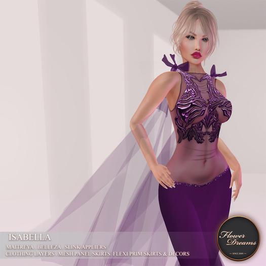 .:FlowerDreams:.Isabella - purple