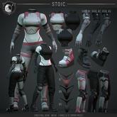 .STOIC. CYBER_NULL.GEAR ARM MAITREYA BLACK 02 RARE