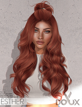 DOUX - Esther hairstyle [BLOGGER PACK]