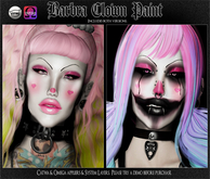 Spookshow - Barbra Clown Paint