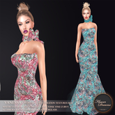 .:FlowerDreams:. Vanessa Gown - Colorful Sequins Demo