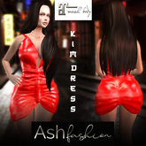 ASH Fashion : DEAL OF THE WEEK: Kim dress: red (red dress)