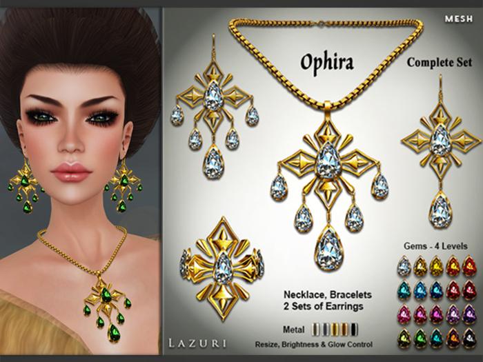 Lazuri Ophira Complete Set - Mesh
