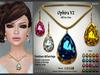 Lazuri Ophira V2 Necklace Earrings - Mesh