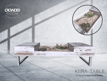 Crowded Room - Kiira Table - White