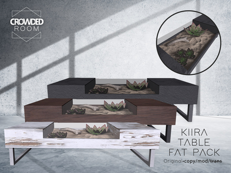 Crowded Room - Kiira Table - FAT PACK