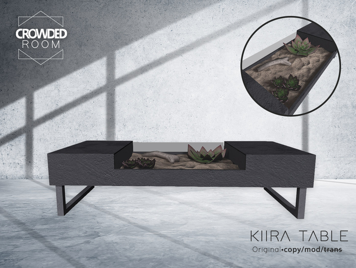 Crowded Room - Kiira Table - Black