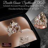 Copy Zuri's Double Aussie Spellbound Ring-Chocolate & Mocha Dia-Copper Bento