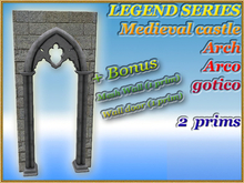 LEGEND SERIES Medieval castle Arch Arco gotico (2 prim)